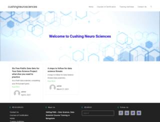 cushingneurosciences.com screenshot