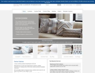 cushionwarehouse.co.uk screenshot