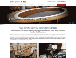 custom-conference-tables.com screenshot