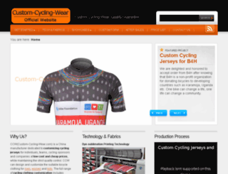 custom-cycling-wear.com screenshot
