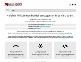 custom-solutions.eu screenshot