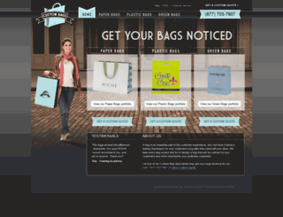 custombagsinc.com screenshot