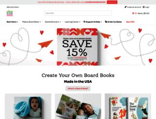 customboardbooks.pintsizeproductions.com screenshot