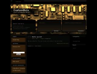 custombots.com screenshot
