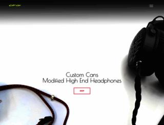 customcans.co.uk screenshot