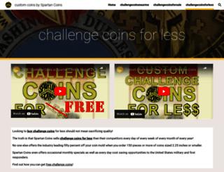 customchallenge-coins.com screenshot