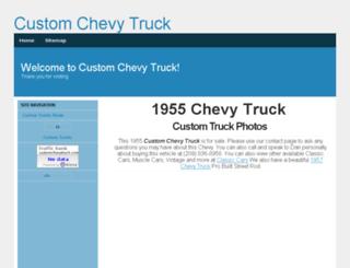 customchevytruck.com screenshot