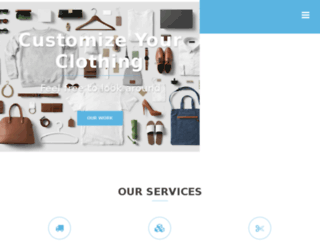 customclothing.com.pk screenshot