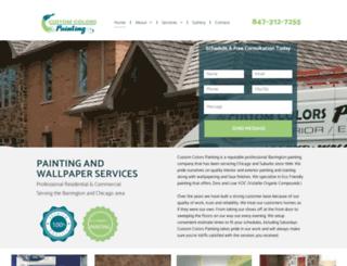 customcolorspainting.com screenshot