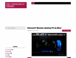 customcontentcaboodle.com screenshot