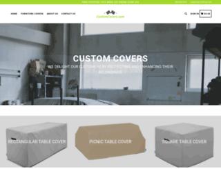 customcovers.com screenshot