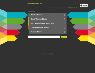customcovers.ie screenshot