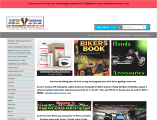 customcruisers.com screenshot
