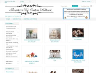 customdollhouse.com screenshot