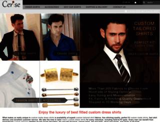 customdressshirts.us screenshot