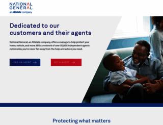 customer.nationalgeneral.com screenshot