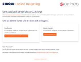 customer.omnea.de screenshot