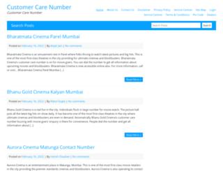 customercarenumber.co.in screenshot