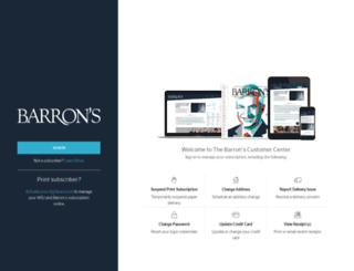 customercenter.barrons.com screenshot
