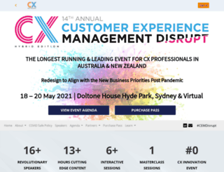 customerexperienceevent.com.au screenshot