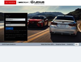 customerreach.toyota.ca screenshot