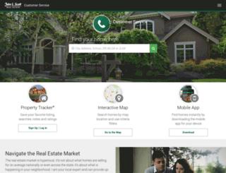 customerservice.johnlscott.com screenshot