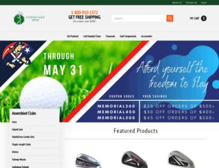 customgolfstop.com screenshot