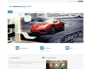 customisedwallpapers.com screenshot