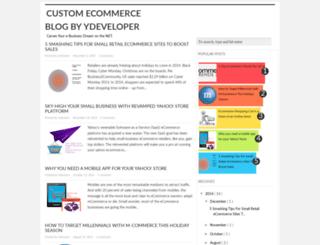 customized-ecommerce.blogspot.com screenshot