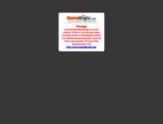 customonlineshopdesign.com screenshot