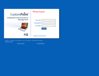 custompoint.rrd.com screenshot