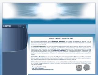 custompowertransformer.com screenshot