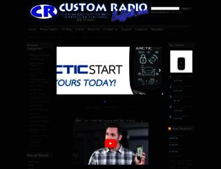 customradio.com screenshot