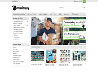 customresourcesfundraising.com screenshot