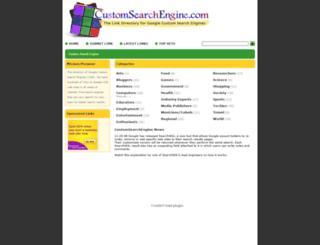 customsearchengine.com screenshot
