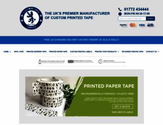 customtape.co.uk screenshot