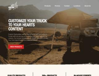 customtruck.info screenshot