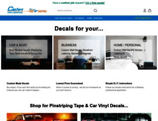 customvinylgraphics.com screenshot