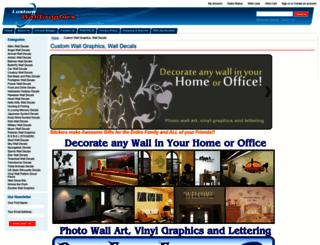 customwallgraphics.com screenshot