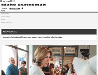 custserv.idahostatesman.com screenshot