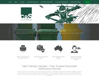 cut2shreds.com.au screenshot
