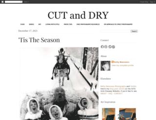 cutand-dry.blogspot.com screenshot