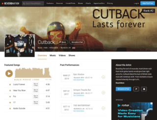 cutback.co.uk screenshot