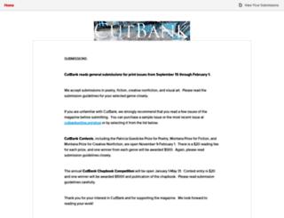 cutbank.submittable.com screenshot