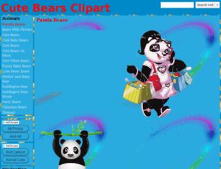 cute-cartoon-bears.clipartonline.net screenshot