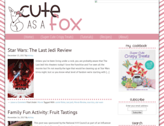 cuteasafox.com screenshot
