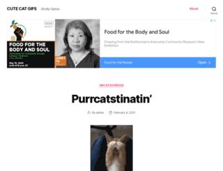 cutecatgifs.com screenshot