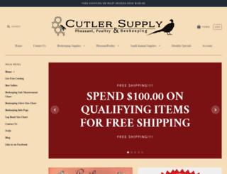cutlersupply.com screenshot