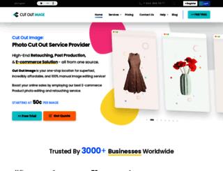 cutoutimage.com screenshot