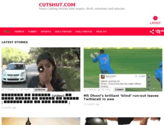 cutshut.com screenshot